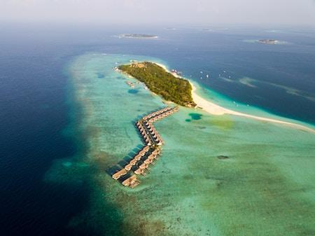 Ile de Kihavah, au Maldives