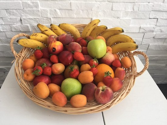 La livraison panier fruits doit-t-il se faire entre les repas ?