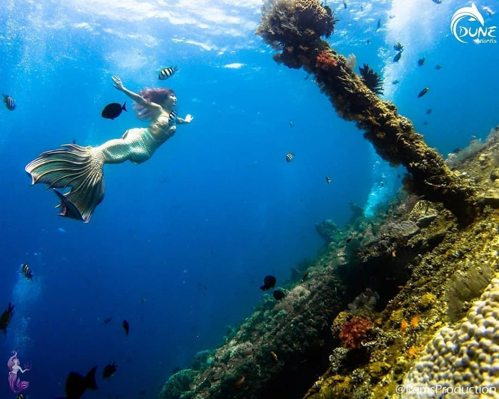 Le lieu idéal pour la Bali Plongée Épave