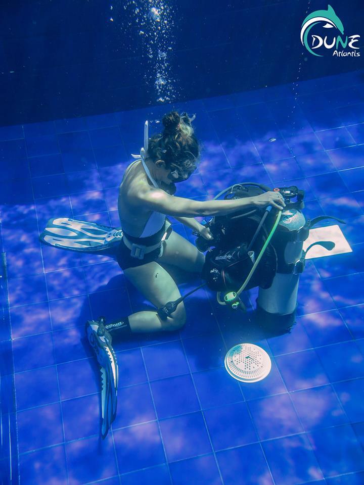 Tout l'équipement nécessaire pour la Plongée Bali