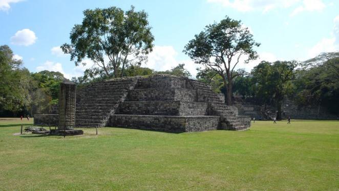 La Ville archéologique à Honduras