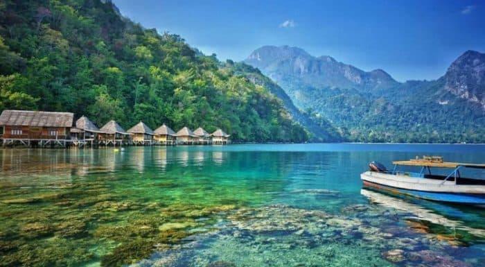 Les paradis cassés que vous pouvez trouver autour de l'Indonésie